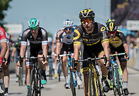Bryan Coquard (FRA/Direct Energie) finishes 3rd in the bunch sprint<br /> <br /> Stage 5: La Tour-de-Salvagny &rsaquo; M&acirc;con (175km)<br /> 69th Crit&eacute;rium du Dauphin&eacute; 2017