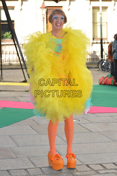 Grayson Perry<br /> Royal Academy Summer Preview Party arrivals, London, England 3rd June 2015<br /> CAP/PL<br /> &copy;Phil Loftus/Capital Pictures