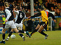 29/01/2005  Copyright Pic : James Stewart.File Name : jspa06_partick v raith.ARMAND ONE SCORES PARTICK'S SECOND.......Payments to :.James Stewart Photo Agency 19 Carronlea Drive, Falkirk. FK2 8DN      Vat Reg No. 607 6932 25.Office     : +44 (0)1324 570906     .Mobile   : +44 (0)7721 416997.Fax         : +44 (0)1324 570906.E-mail  :  jim@jspa.co.uk.If you require further information then contact Jim Stewart on any of the numbers above.........A
