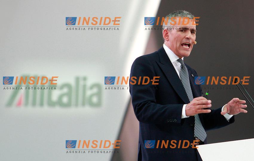 Andrea Ragnetti.Roma 19/06/2012 Aeroporto di Fiumicino. Alitalia Day 2012..Photo Samantha Zucchi Insidefoto