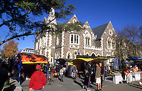Art fair in Christchurch called the Art Centre, Worchester Street, New Zealand, South Pacific
