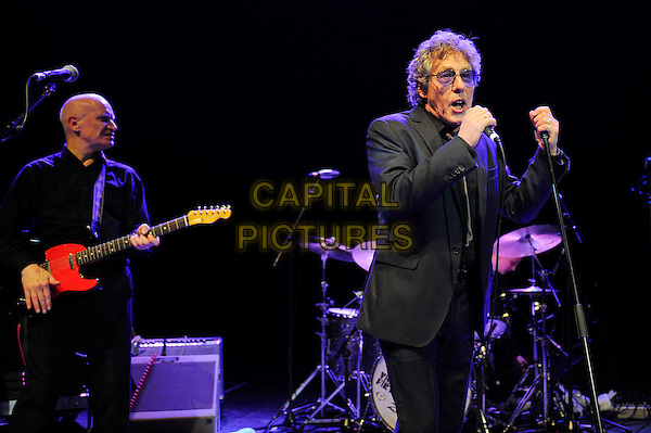 LONDON, ENGLAND - February 25: Wilko Johnson and Roger Daltrey performing in concert at the o2 Shepherd's Bush Empire on February 25, 2014 in London, England<br /> CAP/MAR<br /> &copy; Martin Harris/Capital Pictures
