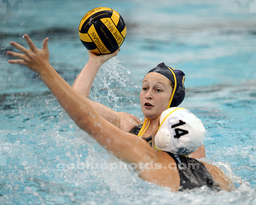 The University of Michigan women's water polo team lost to UCLA, 12-3, at Canham Natatorium in Ann Arbor, Mich., on January 19, 2013.