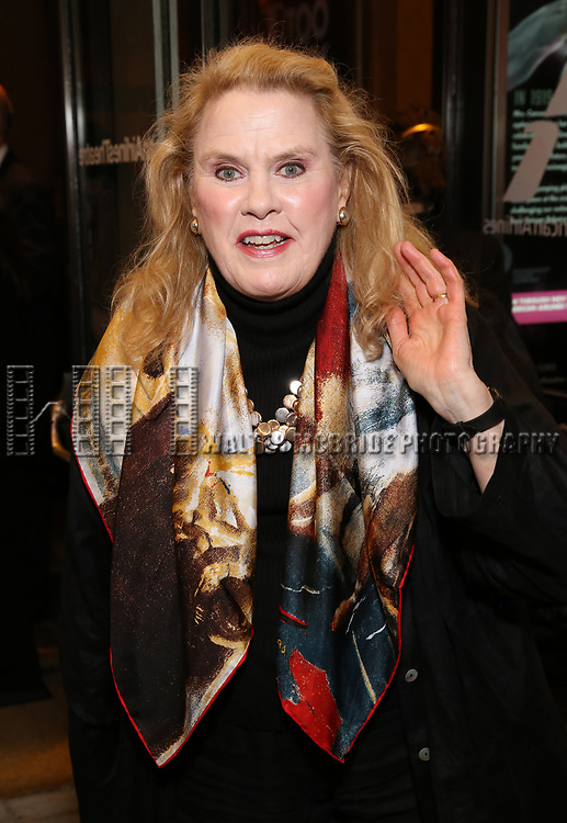 Celia Weston attends the Broadway Opening Night performance of The Roundabout Theatre Company production of 'Time and The Conways'  on October 10, 2017 at the American Airlines Theatre in New York City.