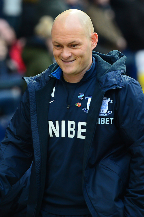 Preston North End manager Alex Neil  looks on<br /> <br /> Photographer Richard Martin-Roberts/CameraSport<br /> <br /> The EFL Sky Bet Championship - Preston North End v Blackburn Rovers - Saturday 24th November 2018 - Deepdale Stadium - Preston<br /> <br /> World Copyright © 2018 CameraSport. All rights reserved. 43 Linden Ave. Countesthorpe. Leicester. England. LE8 5PG - Tel: +44 (0) 116 277 4147 - admin@camerasport.com - www.camerasport.com