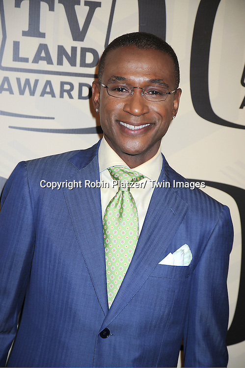 Tommy Davidson arrives at The 10th Annual TV Land Awards on April 14, 2012 at the Lexington Avenue Armory  in New York City.