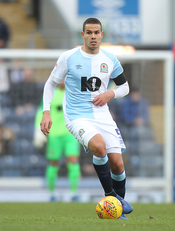 Blackburn Rovers Jack Rodwell<br /> <br /> Photographer Mick Walker/CameraSport<br /> <br /> The EFL Sky Bet Championship - Blackburn Rovers v Bristol City - Saturday 9th February 2019 - Ewood Park - Blackburn<br /> <br /> World Copyright &copy; 2019 CameraSport. All rights reserved. 43 Linden Ave. Countesthorpe. Leicester. England. LE8 5PG - Tel: +44 (0) 116 277 4147 - admin@camerasport.com - www.camerasport.com
