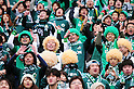 FCMatsumoto Yamaga FC fans,.MARCH 4, 2012 - Football / Soccer :.2012 J.League Division 2 match between Tokyo Verdy 2-0 Matsumoto Yamaga F.C. at Ajinomoto Stadium in Tokyo, Japan. (Photo by AFLO)
