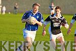 KOR's Declan Quill and Ardfert's Rory Horgan.
