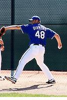 Thomas Diamond - Texas Rangers - 2009 spring training.Photo by:  Bill Mitchell/Four Seam Images