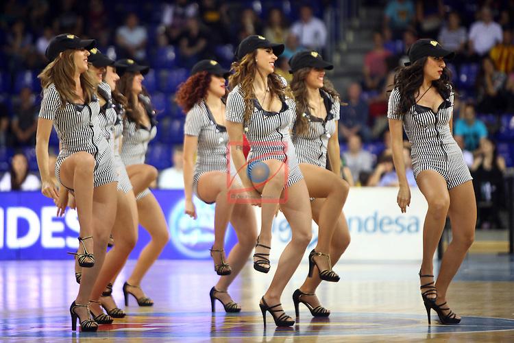 League ACB-ENDESA 2014/2015 - Game: 32.<br /> FC Barcelona vs Dominion Bilbao Basket: 80-73.<br /> Dream Cheers.