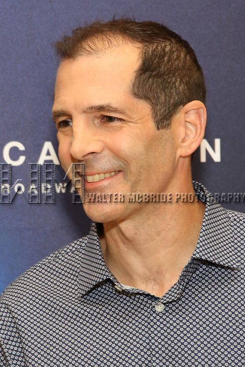 "Playwright Christopher Demos-Brown attends the Cast photo call for the New Broadway Play ""American Son"" on September 14, 2018 at the New 42nd Street Studios in New York City."