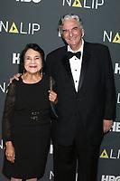 LOS ANGELES - JUL 27:  Dolores Huertas, Gregory Nava at the NALIP 2019 Latino Media Awards at the Dolby Ballroom on July 27, 2019 in Los Angeles, CA