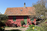 Haus des Henkers auf Frederiks&oslash;, Ertholmene (Erbseninseln) bei Bornholm, D&auml;nemark, Europa<br /> House of the hangman on  Frederiks&oslash;, Ertholmene, Isle of Bornholm Denmark