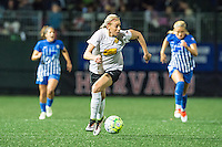 Allston, MA - Saturday Sept. 24, 2016: Alanna Kennedy during a regular season National Women's Soccer League (NWSL) match between the Boston Breakers and the Western New York Flash at Jordan Field.