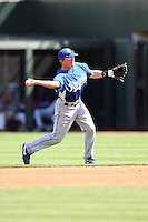 Chris Getz, Kansas City Royals 2010 minor league spring training..Photo by:  Bill Mitchell/Four Seam Images.