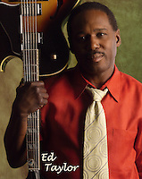Music CD cover shot of Jazz guitarist Ed Taylor