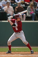 April 3 2010: Zach Jones of the Stanford Cardinal during game against the UCLA Bruins at UCLA in Los Angeles,CA.  Photo by Larry Goren/Four Seam Images
