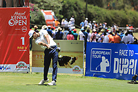 Jack Singh Brar (ENG) in action during the final round of the Magical Kenya Open presented by ABSA played at Karen Country Club, Nairobi, Kenya. 17/03/2019<br /> Picture: Golffile | Phil Inglis<br /> <br /> <br /> All photo usage must carry mandatory copyright credit (&copy; Golffile | Phil Inglis)