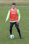 11.03.2018, Trainingsgelaende, Bremen, GER, 1.FBL, Training SV Werder Bremen<br /> <br /> im Bild<br /> Sebastian Langkamp (Werder Bremen #15), <br /> <br /> Foto &copy; nordphoto / Ewert