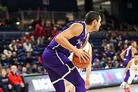 Washington, DC - December 22, 2018: High Point Panthers forward Caden Sanchez (35) grabs a reboundduring the DC Hoops Fest between Hampton and Howard at  Entertainment and Sports Arena in Washington, DC.   (Photo by Elliott Brown/Media Images International)