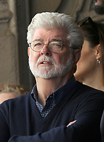 HOLLYWOOD, CA - MARCH 8: George Lucas, at Mark Hamill Honored With Star On The Hollywood Walk Of Fame At Hollywood Blvd in Hollywood, California on March 8, 2018. <br /> CAP/MPI/FS<br /> &copy;FS/MPI/Capital Pictures