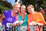 Tina Curtin (Knocknagoshel) Aine Bulman (Tralee) and Siobhan Devane (Dingle). who took part in the Killarney Women's Mini Marathon on Saturday last.