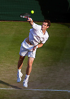 25-6-09, England, London, Wimbledon,  Andy Murray