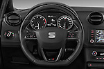 Car pictures of steering wheel view of a 2016 Seat Ibiza-SC Cupra 5 Door Hatchback Steering Wheel