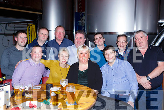 Former staff in Kaynes restaurant held a reunion in the Killarney Brewery on Thursday night front row l-r: Stephen Carey, Sasha Karaivanova, Karen Murphy, Tomas Uchytil. Back row: Kevin Cronin, Sean o'Sullivan, Andrew Joy, Brendan Murphy, Barry O'connor, Mike Talbot and Seamus Murphy
