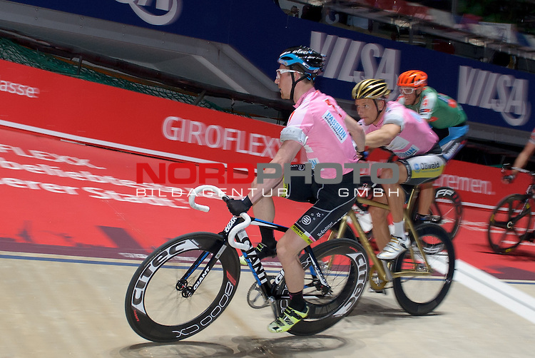 13.01.2015, &Ouml;VB Arena, Bremen, GER, Sixdays Bremen, im Bild Marcel Barth / Erik Mohs (Team elements pure #7)<br /> <br /> Foto &copy; nordphoto / Frisch