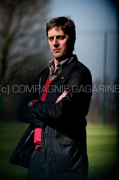 Jean-François de Sart, sportive director of the Standard de Liège football club (Belgium, 16/03/2012)