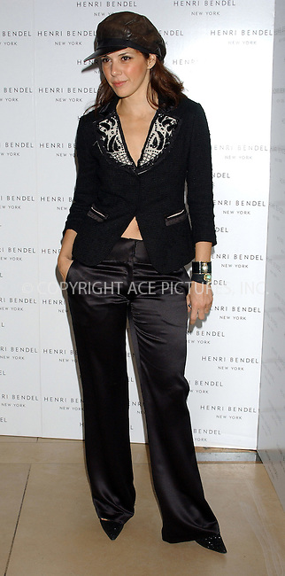 WWW.ACEPIXS.COM . . . . . ....NEW YORK, DECEMBER 16, 2004....Marisa Tomei at the Henri Bendel launch of Courtworth Couture Lingerie Collection.....Please byline: ACE006 - ACE PICTURES.. . . . . . ..Ace Pictures, Inc:  ..Alecsey Boldeskul (646) 267-6913 ..Philip Vaughan (646) 769-0430..e-mail: info@acepixs.com..web: http://www.acepixs.com