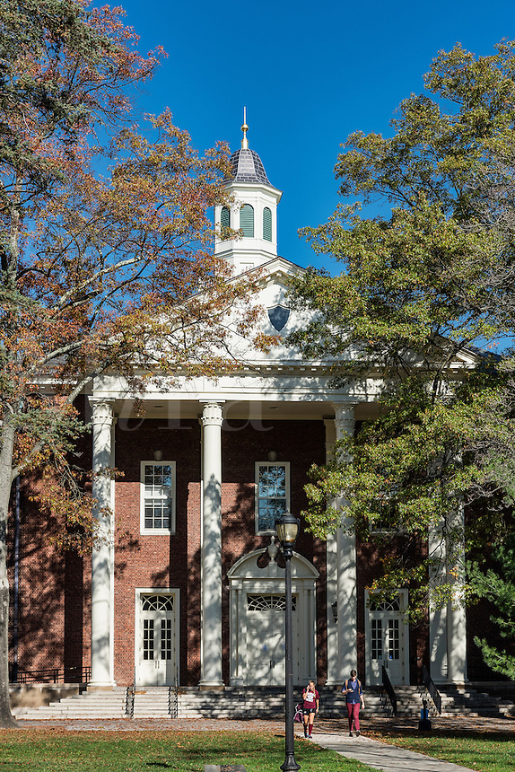 Students Building, Vassar College, Poughkeepsie, New York, USA