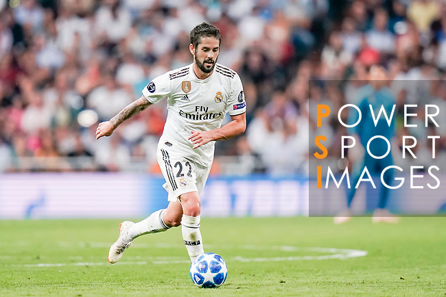 Isco Alarcon of Real Madrid in action during the UEFA Champions League 2018-19 match between Real Madrid and Roma at Estadio Santiago Bernabeu on September 19 2018 in Madrid, Spain. Photo by Diego Souto / Power Sport Images
