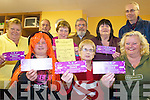 DANCE: Iveragh Park residents in Killorglin promoting their Halloween Dance on 25th October, front l-r: Breda O'Sullivan, Margaret O'Sullivan, Helen O'Shea (Chairperson). Back l-r: Marionm &&&&, Pat Aherne, Maureen Gamble, John O'Sullivan, Kathleen Bailey, John Sheahan.   Copyright Kerry's Eye 2008