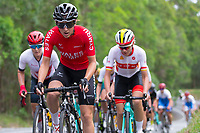 Picture by Alex Whitehead/SWpix.com - 14/04/2018 - Commonwealth Games - Cycling Road - Currumbin Beachfront, Gold Coast, Australia - Elinor Barker of Wales in action during the Women's Road Race.