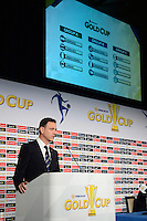 Santa Clara, CA - Tuesday, March 07, 2017: CONCACAF General Secretary, Philippe Moggio during the unveiling of the CONCACAF 2017 Gold Cup Groups & Schedule at Levi's Stadium.