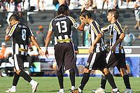 RIO DE JANEIRO, RJ, 04 DE MARCO 2012 - CAMPEONATO CARIOCA - 2a RODADA - TACA RIO - BOTAFOGO X VOLTA REDONDA - Jogadores do Botafogo, comemoram o gol de Herrera, durante partida contra o Volta Redonda, pela 2a rodada da Taca Rio, no estadio de Sao Januario, na cidade do Rio de Janeiro, neste domingo, 04. FOTO BRUNO TURANO  BRAZIL PHOTO PRESS