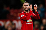 Juan Mata of Manchester United claps the fans during the Premier League match at Old Trafford, Manchester. Picture date: 11th January 2020. Picture credit should read: James Wilson/Sportimage