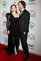LOS ANGELES - JAN 19:  Amy Adams, Darren Le Gallo at the 2019 Producers Guild Awards at the Beverly Hilton Hotel on January 19, 2019 in Beverly Hills, CA