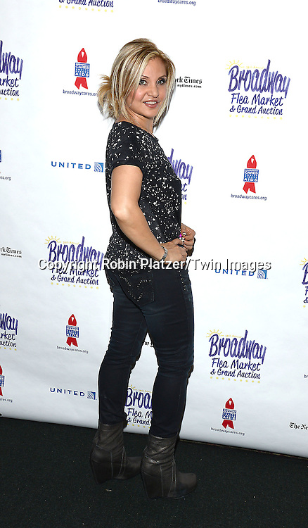 Orfeh attends the 28th Annual  Broadway Cares/ Equity Fights Aids Flea Market and Auction on September 21,2014 in Shubert Alley in New York City. <br /> <br /> photo by Robin Platzer/Twin Images<br />  <br /> phone number 212-935-0770