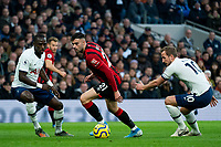 Bournemouth's Diego Rico vies for possession with Tottenham Hotspur's Harry Kane<br /> <br /> Photographer Stephanie Meek/CameraSport<br /> <br /> The Premier League - Tottenham Hotspur v Bournemouth - Saturday 30th November 2019 - Tottenham Hotspur Stadium - London<br /> <br /> World Copyright © 2019 CameraSport. All rights reserved. 43 Linden Ave. Countesthorpe. Leicester. England. LE8 5PG - Tel: +44 (0) 116 277 4147 - admin@camerasport.com - www.camerasport.com