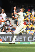 3rd December 2017, Adelaide Oval, Adelaide, Australia; The Ashes Series, Second Test, Day 2, Australia versus England; Stuart Broad of England runs in to bowl