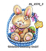 EASTER, OSTERN, PASCUA, paintings+++++,KL4570/3,#e#, EVERYDAY ,rabbit,rabbits