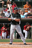 Dan Uggla of the Florida Marlins vs. the Houston Astros March 15th, 2007 at Osceola County Stadium in Kissimmee, FL during Spring Training action.  Photo copyright Mike Janes Photography 2007.