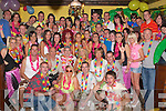 5170-5174.---------.Party with colour.-----------------.James Leen(seated centre)from Main St Ballyheigue celebrated his 21st birthday last Saturday night in Flahives bar Ballyheigue in Hawaiian style with all his family and colourful friends.0879521326..-------------------------------------------   Copyright Kerry's Eye 2008