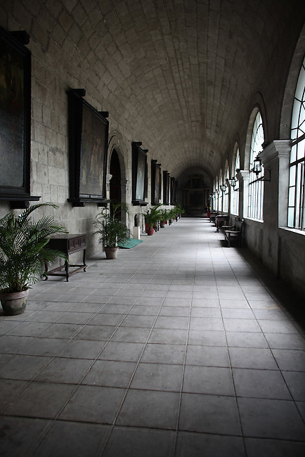 The San Augustin church in Manila was built by the Spanish between 1587 and 1607, and is the oldest church in the Philippines. June 10, 2011.
