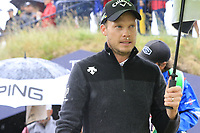Danny Willett (ENG) walks to the 9th tee during Sunday's Final Round of the 148th Open Championship, Royal Portrush Golf Club, Portrush, County Antrim, Northern Ireland. 21/07/2019.<br /> Picture Eoin Clarke / Golffile.ie<br /> <br /> All photo usage must carry mandatory copyright credit (© Golffile | Eoin Clarke)