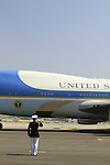 US President Barack Obama visit to Israel, Air Force 1 landing at Ben Gurion Airport